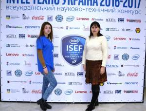 "Student of Economics and Law College Alina Korniyenko among finalists of the competition ""Intel ISEF"""