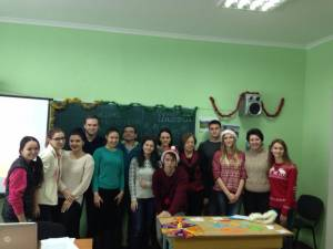 """Christmas Britain Battle"" held at the Faculty of Foreign Languages"