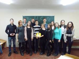 Students of the Faculty of Social Sciences and Administration held a regular meeting of student World Caffe