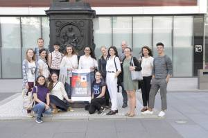 Postgraduate student of ZNU took part in work of international journalism summer school