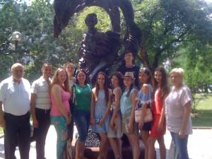 Students of Faculty of Philology undertook internship on basis of the largest university in Bulgaria