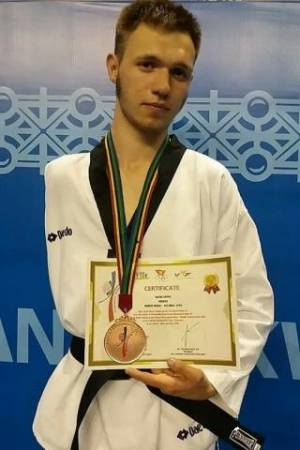 "Student of Economics and Law College Anton Lipoviy won the ""bronze"" of the Asian Championship on Taekwondo WT"