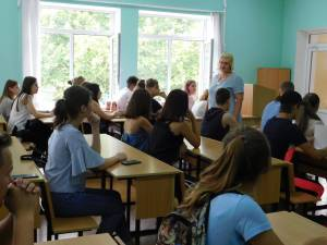 The entrance exams for the enrollers of the College of Economics and Law has begun