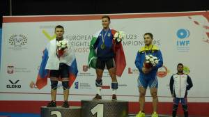 Weightlifters from European Championship brought three bronze medals to ZNU