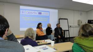 The working group of the DESTIN project (Erasmus + KA2) of the Faculty of Journalism discussed the results of a visit to the UK
