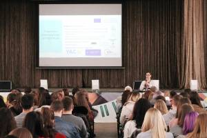 Professors and students of the Faculty of Journalism of ZNU were introduced to the principles of the DESTIN project (Erasmus + KA2)