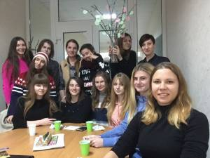 Students of the Faculty of Foreign Languages celebrate Thanksgiving Day