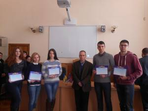 The best experts of English professional language among students named at the Faculty of Law
