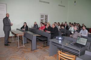 Inter-university scientific-practical conference held at Faculty of Physics