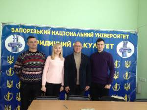 Students met with lawyer and politician from Austria Andreas Gauss