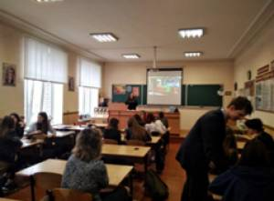 Students of ZNU told graduates of Lyceum № 62 about PR-activity and advertising