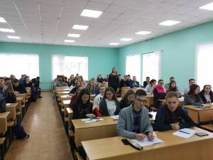 The activities of the Scientific Society of students, graduate students, doctoral students and young scientists were presented for the first-year students of ZNU