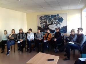 "There are was teaching course of creating grant projects within the program ""Active citizens"""