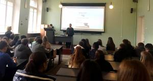 The students of the College of Economics and Law were told about the opportunity to undergo training in Turkey