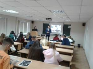 Students of the Faculty of Management met with representatives of the Ukrainian branch of the American company A1 Logistics