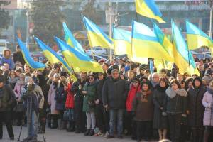 Representatives of ZNU took part in the solemn raising of the flag of the Naval Forces of Ukraine