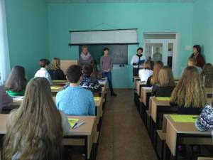 About 500 students took part in the first round of the regional competition of the Minor Academy of Sciences