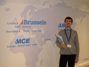 "Project Coordinator of Erasmus + ""European Values in Literary Arts"", associate professor Stanislav Cherkasov took part in an international conference in Brussels"