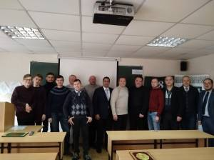 "Scientific-practical conference ""Arabic language and the science"" was held on the Faculty of Social Sciences and Public Administration of ZNU"
