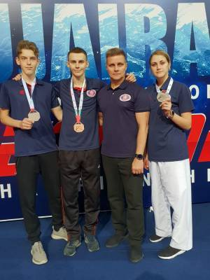 Student of the Faculty of Law Taras Malchenko is a bronze medalist of the international tournament Fujairah Open G-1 in taekwondo