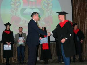 Graduates of the Faculty of Economics of the Faculty solemnly awarded diplomas