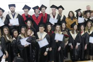 Masters of the Faculty of Journalism of ZNU were awarded diplomas