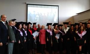 Graduates of the Faculty of History of ZNU received master's degrees