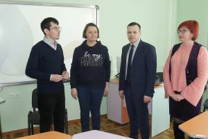 New multimedia audience has been opened in ZNU within the framework of the international grant program