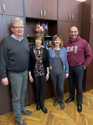 The heads of the language departments of the Goethe-Institut highly appreciated the activities of the German Language Center at Zaporizhzhia National University
