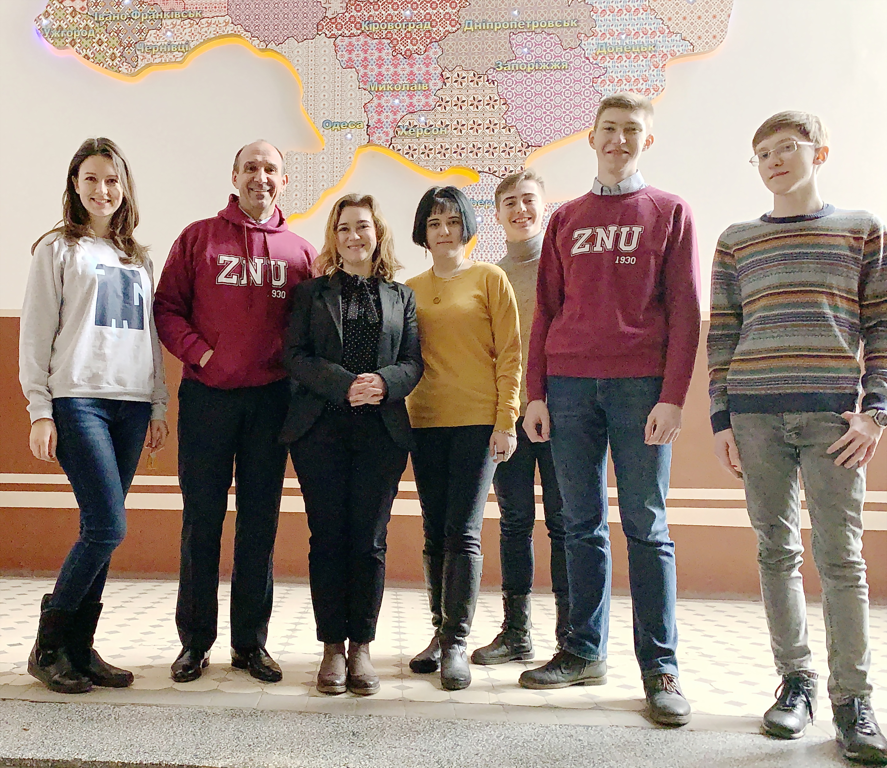 7879eaef3bea9 The project of the formation of academic integrity in school was presented  in Zaporizhzhia National University