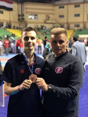 ZNU student is a bronze medalist of Taekwondo international tournament