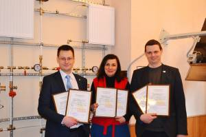 Members of the Certification Commission of ZNU confirmed the high qualification in the field of energy efficiency
