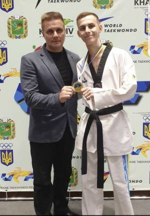 The student of the Faculty of Law, Taras Malchenko is the winner of the Championship of Ukraine in Olympic taekwondo