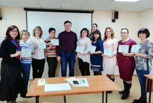 The first graduation of the listeners of the courses on inclusive education took place on the basis of the Postgraduate education center