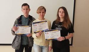 The team of the College of Economics and Law wins the first stage of the All-Ukrainian Student competitive programming for the third time