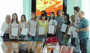There was a training seminar in ZNU with the participation of the Polish professor Eva Ploska