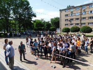 260 applicants visited Zaporizhzhia national University for passing EIE in physics