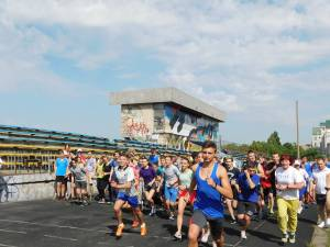 "Students of ZNU took part in the All-Ukrainian race ""Student's Mile"""