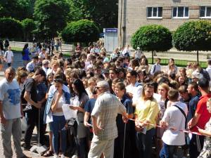 EIE in History of Ukraine which took place in Zaporizhzhia National University was visited by 320 applicants