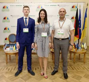 Representatives of ZNU took part in the Ukrainian-Germane conference dedicated to climate adaptation