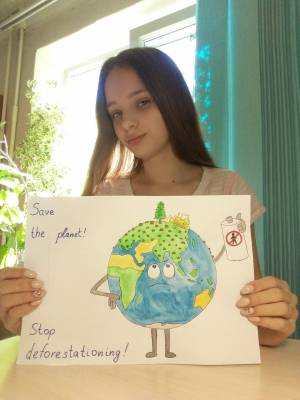 Representatives of CEL ZNU took part in cerebration of «World Earth Day»